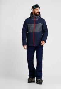 Columbia - WHITE HORIZON HYBRID JACKET - Ski jacket - collegiate navy/heather - 1
