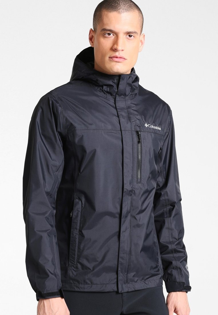 Columbia - POURING ADVENTURE JACKET - Chaqueta Hard shell - black