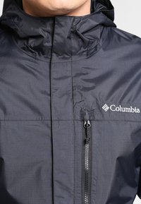 Columbia - POURING ADVENTURE JACKET - Chaqueta Hard shell - black - 3