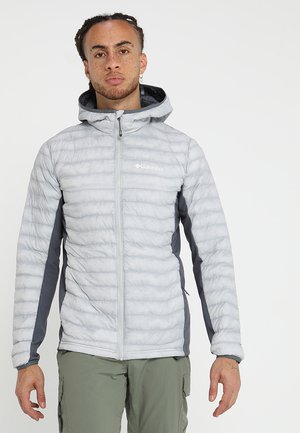POWDER PASS™ HOODED JACKET - Chaqueta outdoor - light grey
