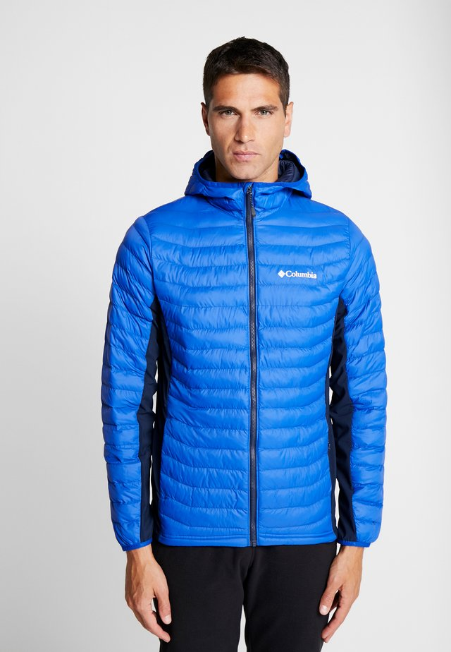 POWDER PASS™ HOODED JACKET - Outdoorjacka - azul/collegiate navy