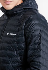 Columbia - POWDER PASS™ HOODED JACKET - Outdoorjas - black - 3