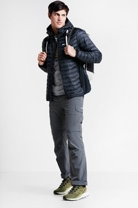 Columbia - POWDER PASS™ HOODED JACKET - Outdoorjas - black - 1