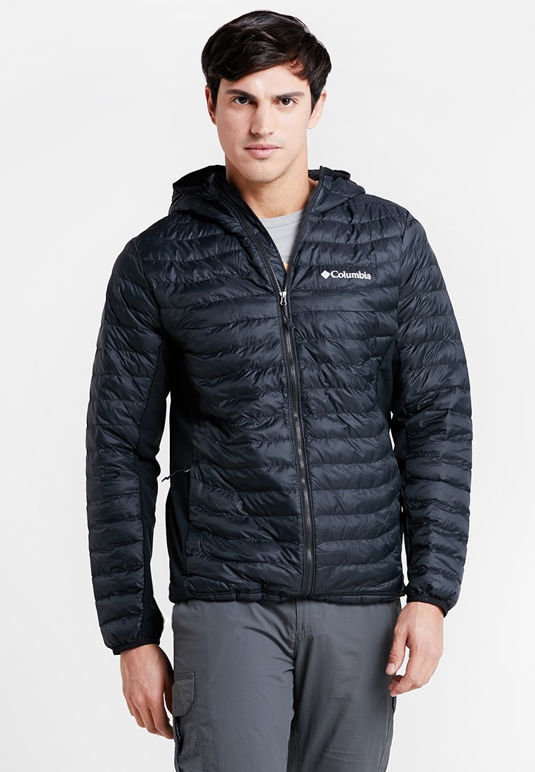 Columbia - POWDER LITE LIGHT HOODED JACKET - Outdoor jacket - black