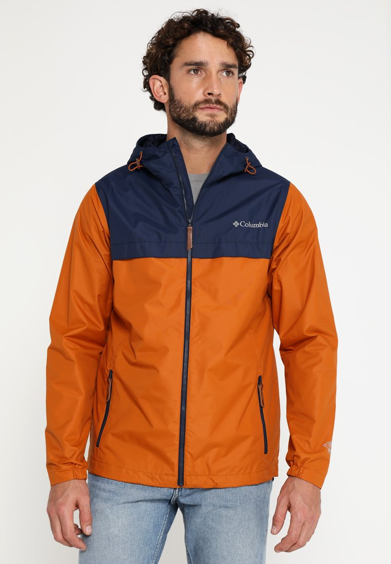 Columbia - JONES RIDGE JACKET - Giacca hard shell - orange