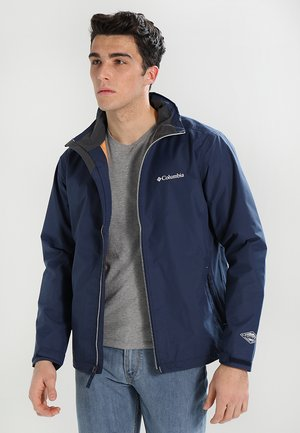 BRADLEY PEAK JACKET - Chaqueta Hard shell - collegiate navy