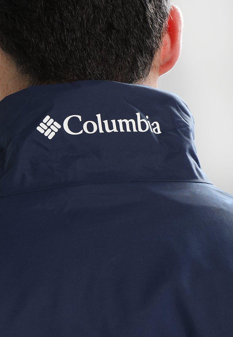 Columbia Bradley Peak Jacket - Hardshell Collegiate Navy
