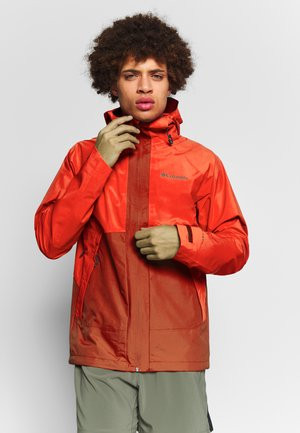 EVOLUTION VALLEY JACKET - Hardshelljacka - carnelian red/wildfire