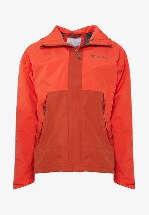 EVOLUTION VALLEY JACKET - Hardshell jacket - carnelian red/wildfire