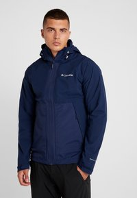 Columbia - EVOLUTION VALLEY JACKET - Kurtka hardshell - collegiate navy - 0