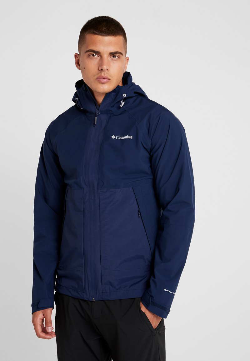 Columbia - EVOLUTION VALLEY JACKET - Kurtka hardshell - collegiate navy