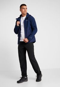 Columbia - EVOLUTION VALLEY JACKET - Kurtka hardshell - collegiate navy - 1