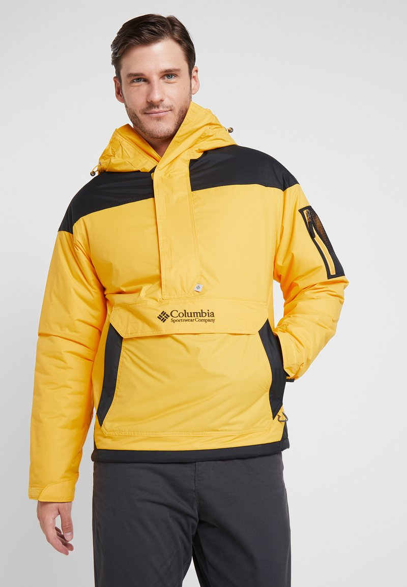 Columbia - CHALLENGER - Winterjas - mustard yellow/black