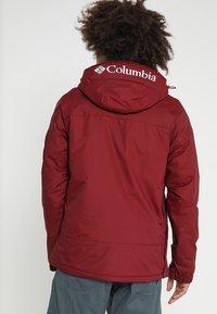Columbia - CHALLENGER - Winterjas - red element - 2