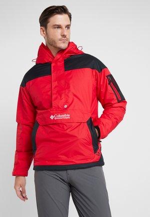 CHALLENGER - Winterjas - mountain red/black