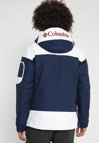 Columbia - CHALLENGER - Winterjas - collegiate navy/white - 2