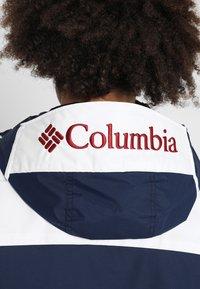 Columbia - CHALLENGER - Winterjas - collegiate navy/white - 6