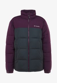 Columbia - PIKE LAKE™ JACKET - Kurtka zimowa - shark/black cherry - 4