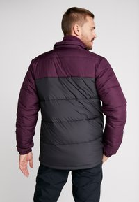 Columbia - PIKE LAKE™ JACKET - Kurtka zimowa - shark/black cherry - 2