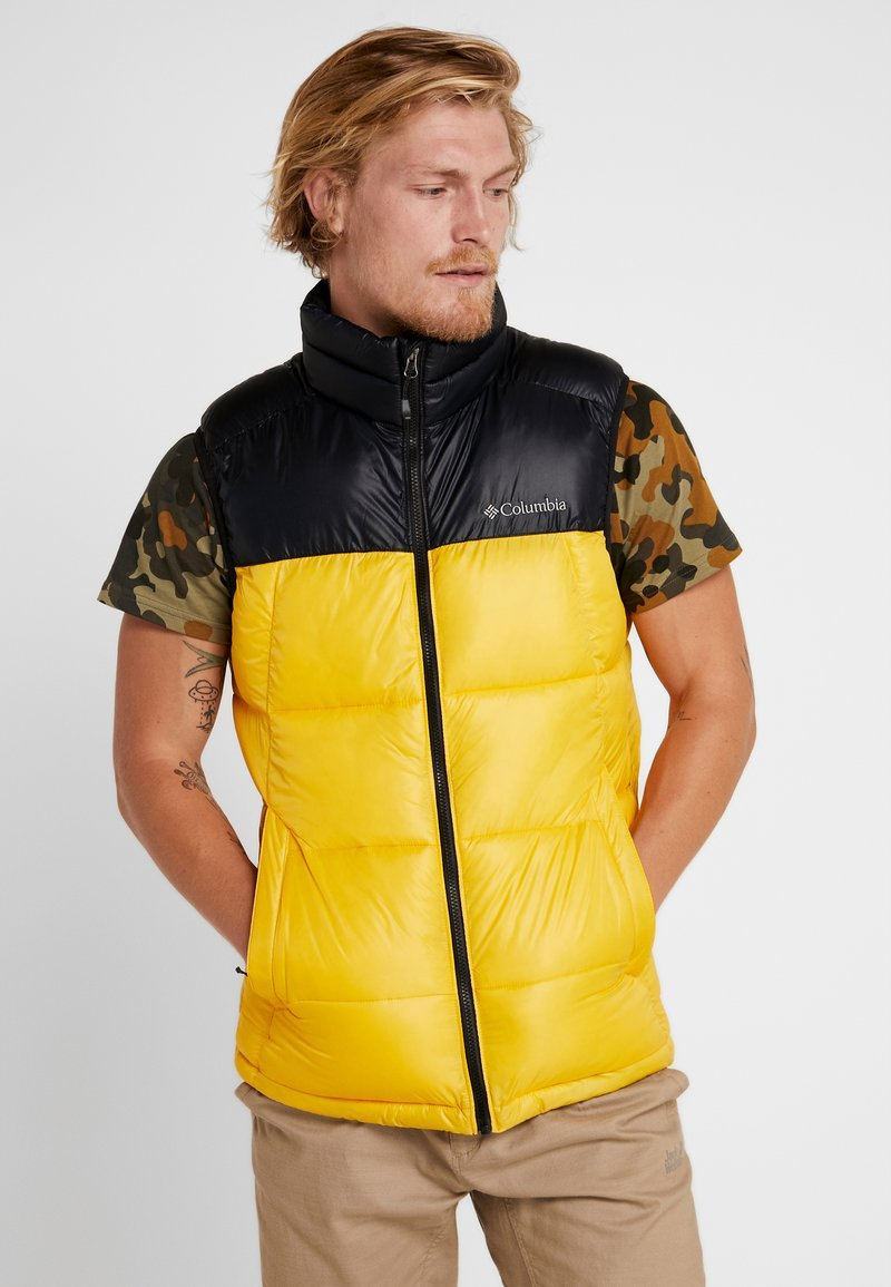 Columbia - PIKE LAKE™ VEST - Bodywarmer - mustard yellow/black