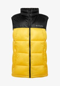 Columbia - PIKE LAKE™ VEST - Bodywarmer - mustard yellow/black - 3