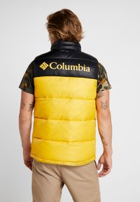 Columbia - PIKE LAKE™ VEST - Bodywarmer - mustard yellow/black - 2