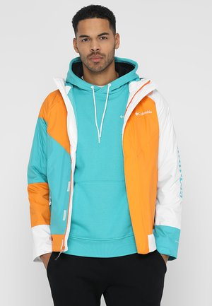 WINDELL PARK JACKET - Veste imperméable - miami/orange blast/white