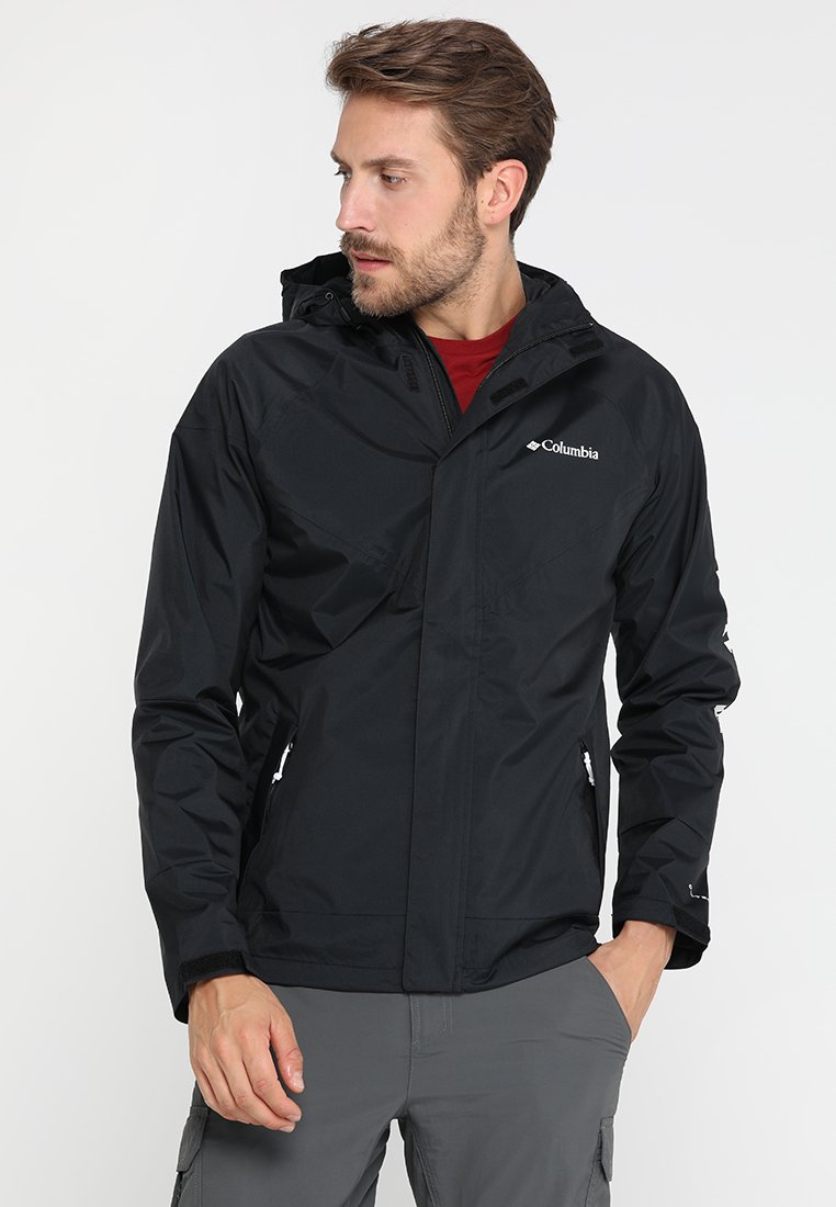 Columbia - WINDELL PARK JACKET - Waterproof jacket - black