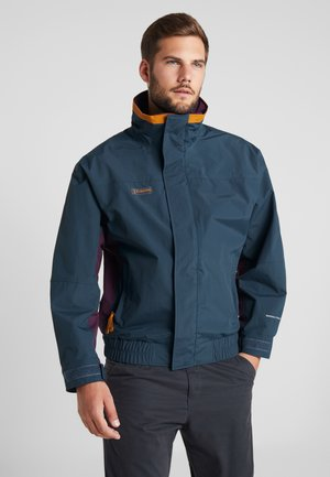 BUGABOO 1986 INTERCHANGE 2-IN-1 JACKET - Ulkoilutakki - night shadow/black cherry