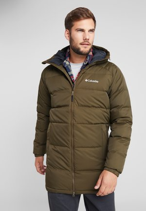 MACLEAY LONG - Down coat - olive green