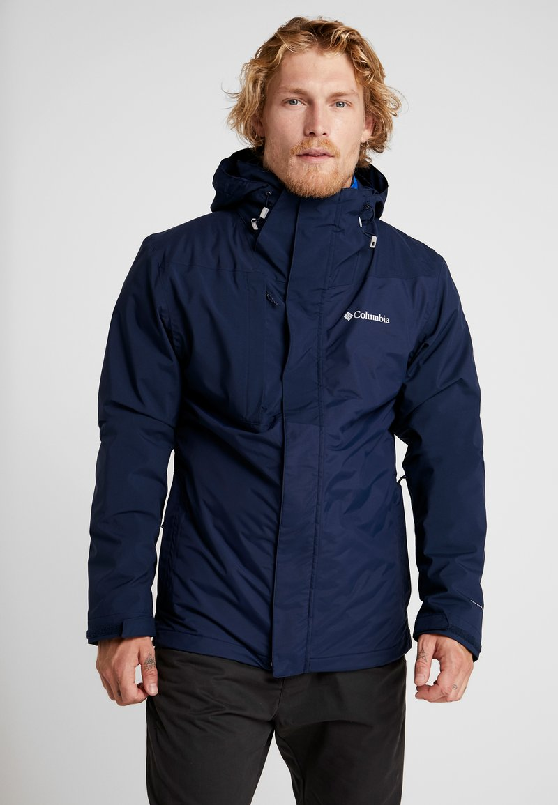 Columbia - TOLT TRACK INTERCHANGE JACKET 2-IN-1 - Outdoorjacka - collegiate navy