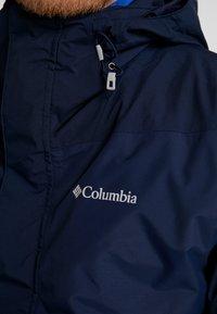 Columbia - TOLT TRACK INTERCHANGE JACKET 2-IN-1 - Outdoorová bunda - collegiate navy - 8