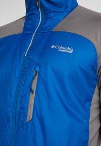Columbia - CALDORADO INSULATED JACKET - Veste de running - marine blue/city grey - 6
