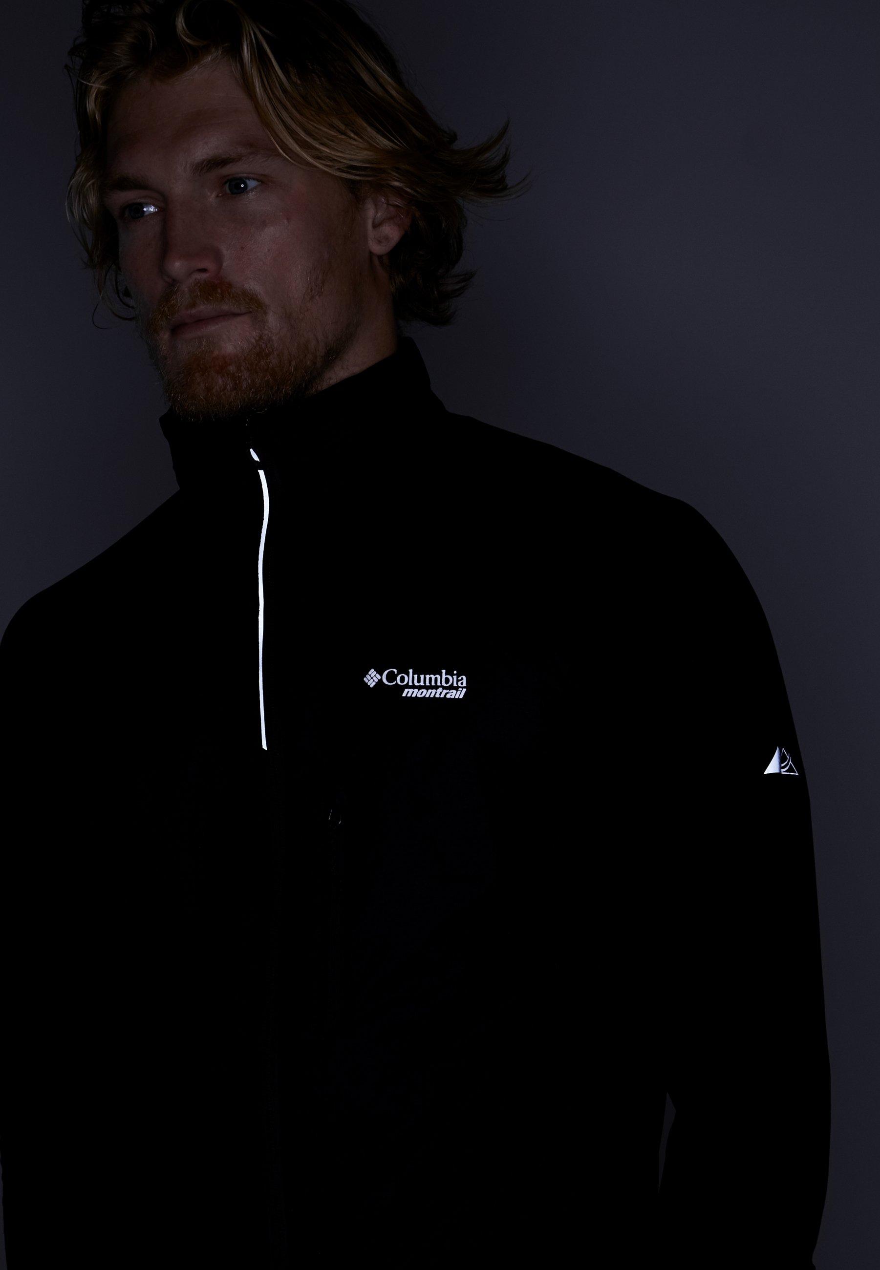 Caldorado De Columbia Black Insulated JacketVeste Running yOmNvn0w8