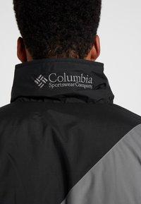 Columbia - SIDELINE - Kurtka zimowa - black/city grey - 3