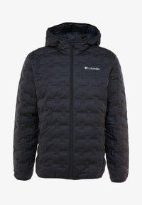 Columbia - DELTA RIDGE HOODED JACKET - Gewatteerde jas - black - 3