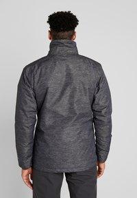 Columbia - RIDE ON JACKET - Ski jas - graphite heather - 3