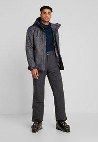 Columbia - RIDE ON JACKET - Ski jas - graphite heather - 1
