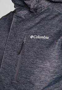 Columbia - RIDE ON JACKET - Ski jas - graphite heather - 9