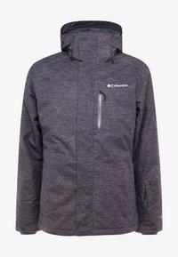 Columbia - RIDE ON JACKET - Ski jas - graphite heather - 8