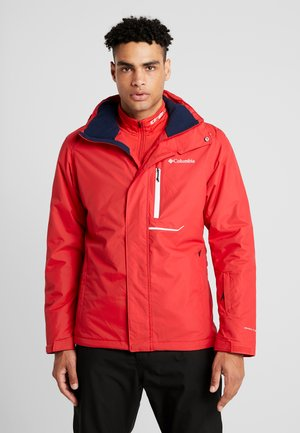 RIDE ON JACKET - Ski jas - mountain red