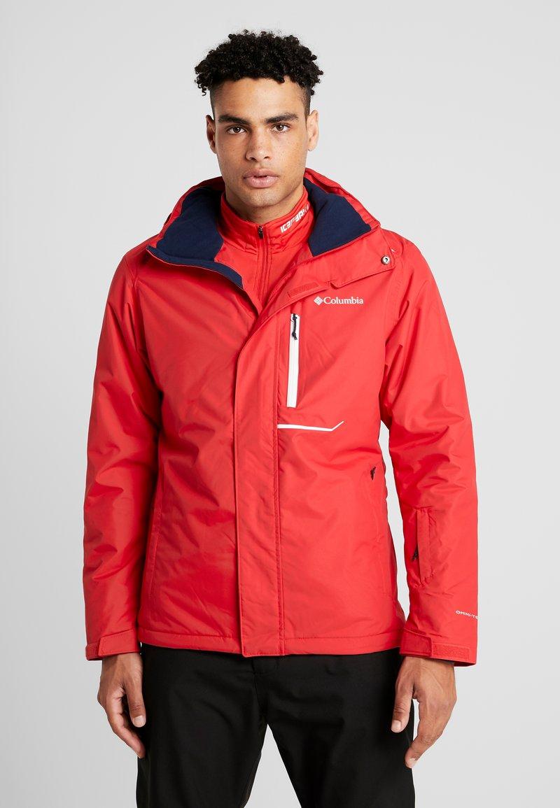 Columbia - RIDE ON JACKET - Veste de ski - mountain red