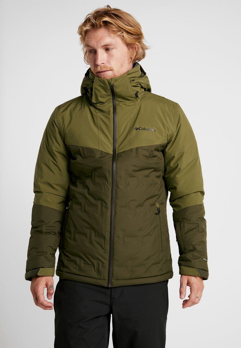 Columbia - WILD CARD JACKET - Ski jacket - olive green/olive brown