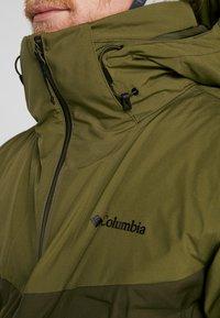 Columbia - WILD CARD JACKET - Skijacke - olive green/olive brown - 7