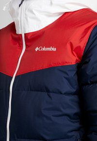 Columbia - ICELINE RIDGE JACKET - Ski jas - collegiate navy/mountain red/white - 5