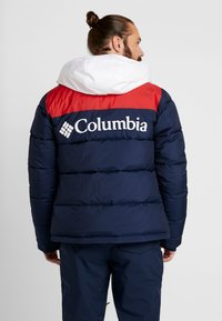 Columbia - ICELINE RIDGE JACKET - Ski jas - collegiate navy/mountain red/white - 2