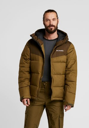 ICELINE RIDGE JACKET - Ski jas - olive brown/olive green