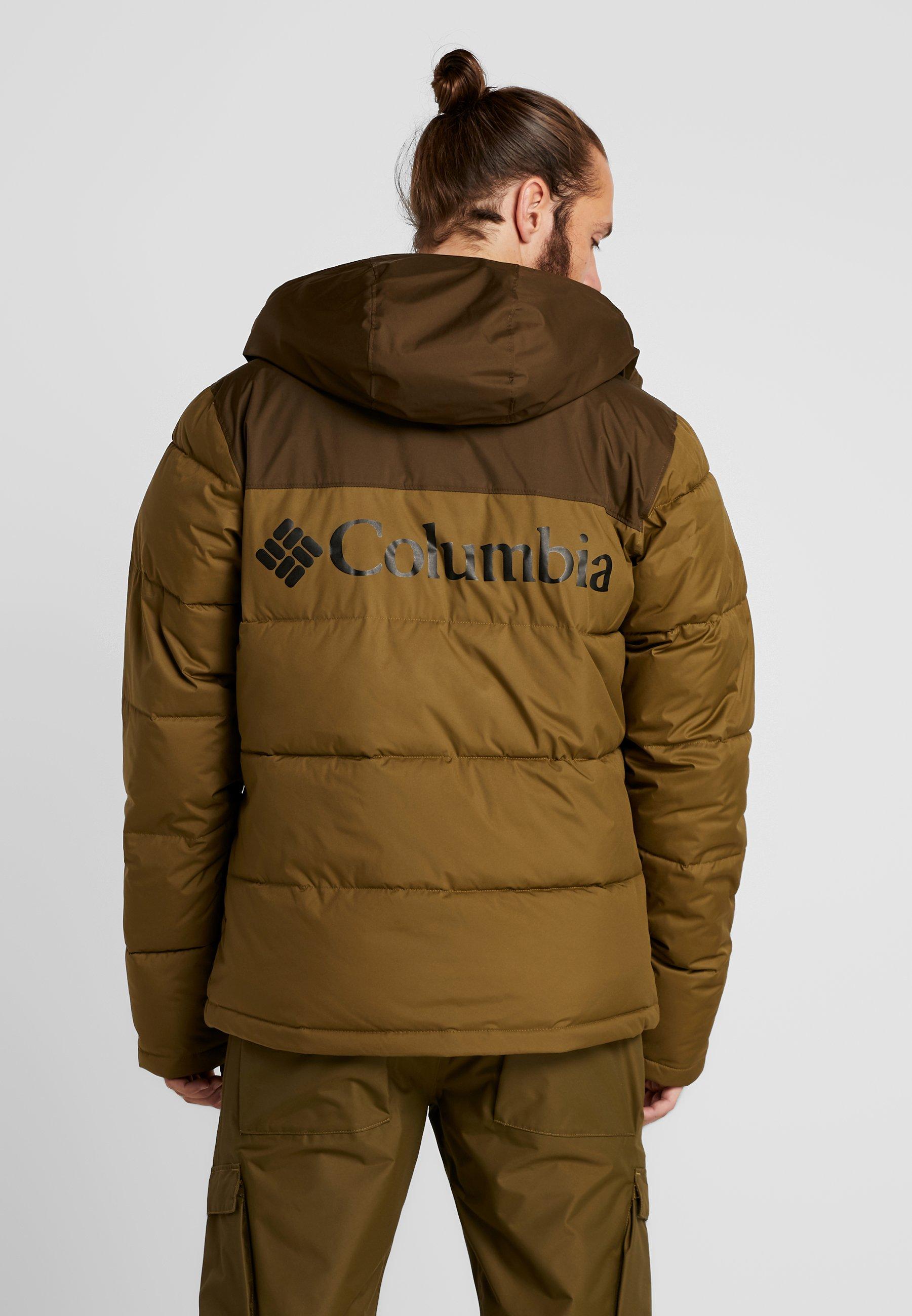 Columbia Iceline Ridge Jacket - Veste De Ski Olive Brown/olive Green