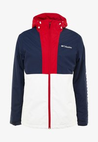 Columbia - TIMBERTURNER JACKET - Snowboardjas - white/collegiate navy - 6