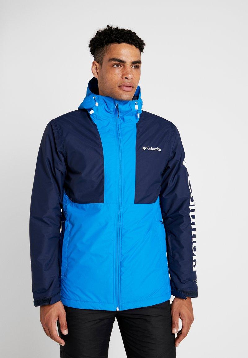 Columbia - TIMBERTURNER JACKET - Ski jacket - azure blue/collegiate navy